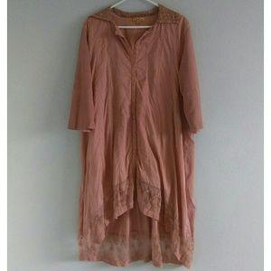 April Cornell Romantic Flowy Dress